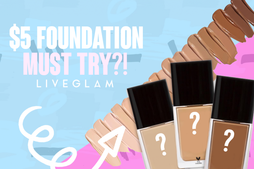 The $5 Foundation that's surprisingly…amazing