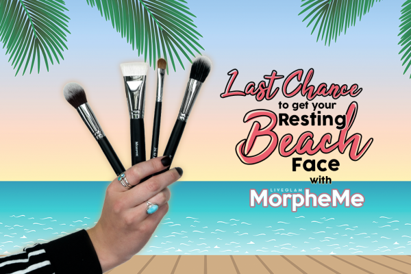 Last Call to Get Your Resting Beach Face Beat with July LiveGlam MorpheMe