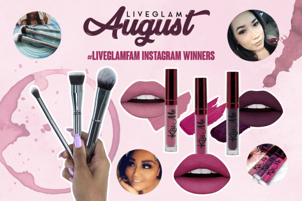 August #LiveGlamFam Instagram Giveaway Winners!
