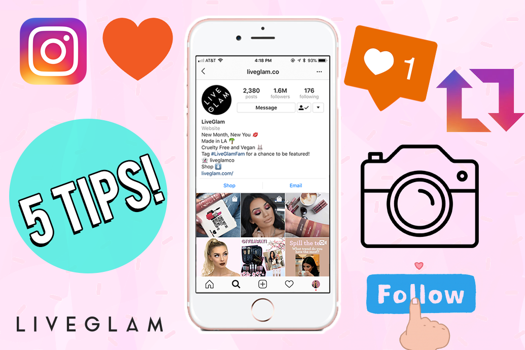 Tips for Getting Reposted by Beauty Brands on Instagram