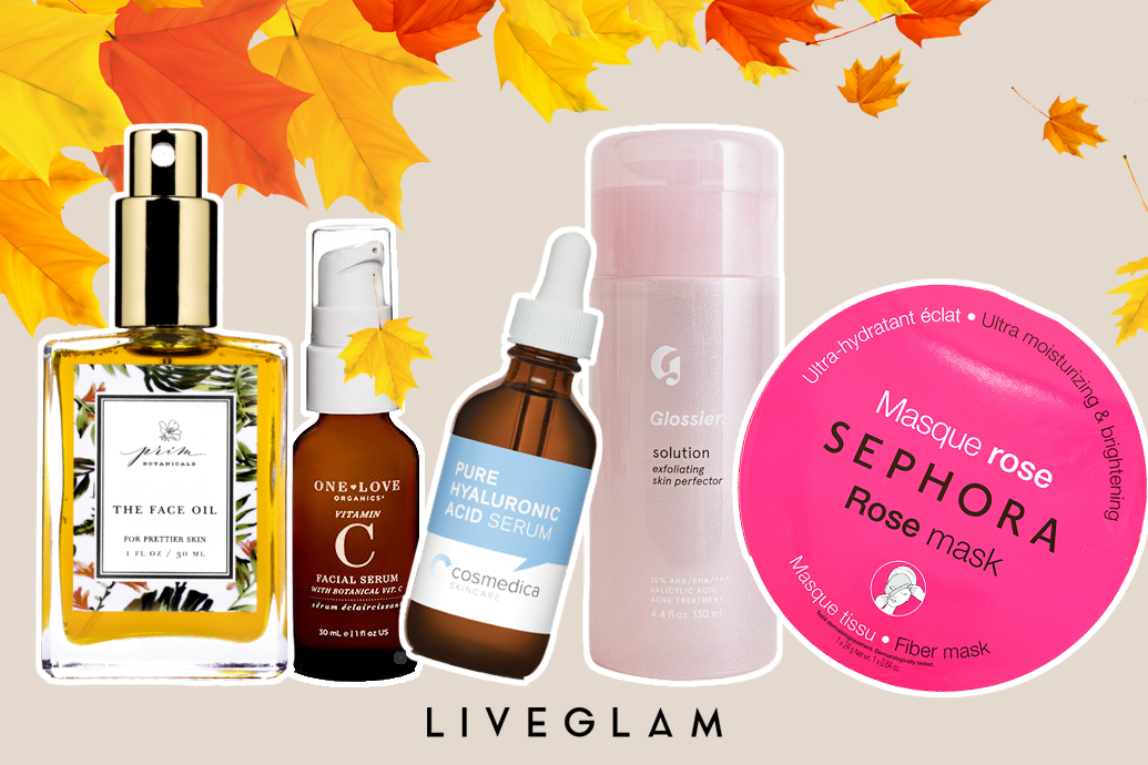 5 Ingredients You Should Be Using in Your Skincare Routine this Fall!