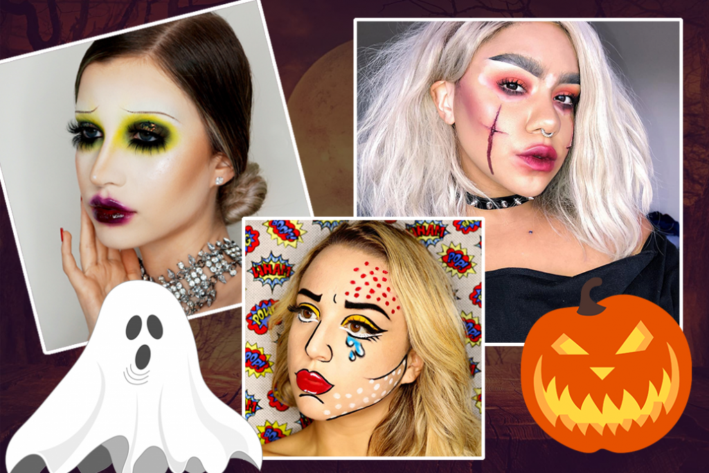 5 Super Easy Makeup Looks for Halloween!