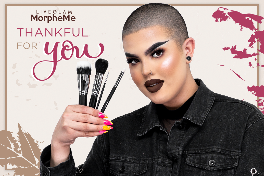 LiveGlam November MorpheMe Brushes