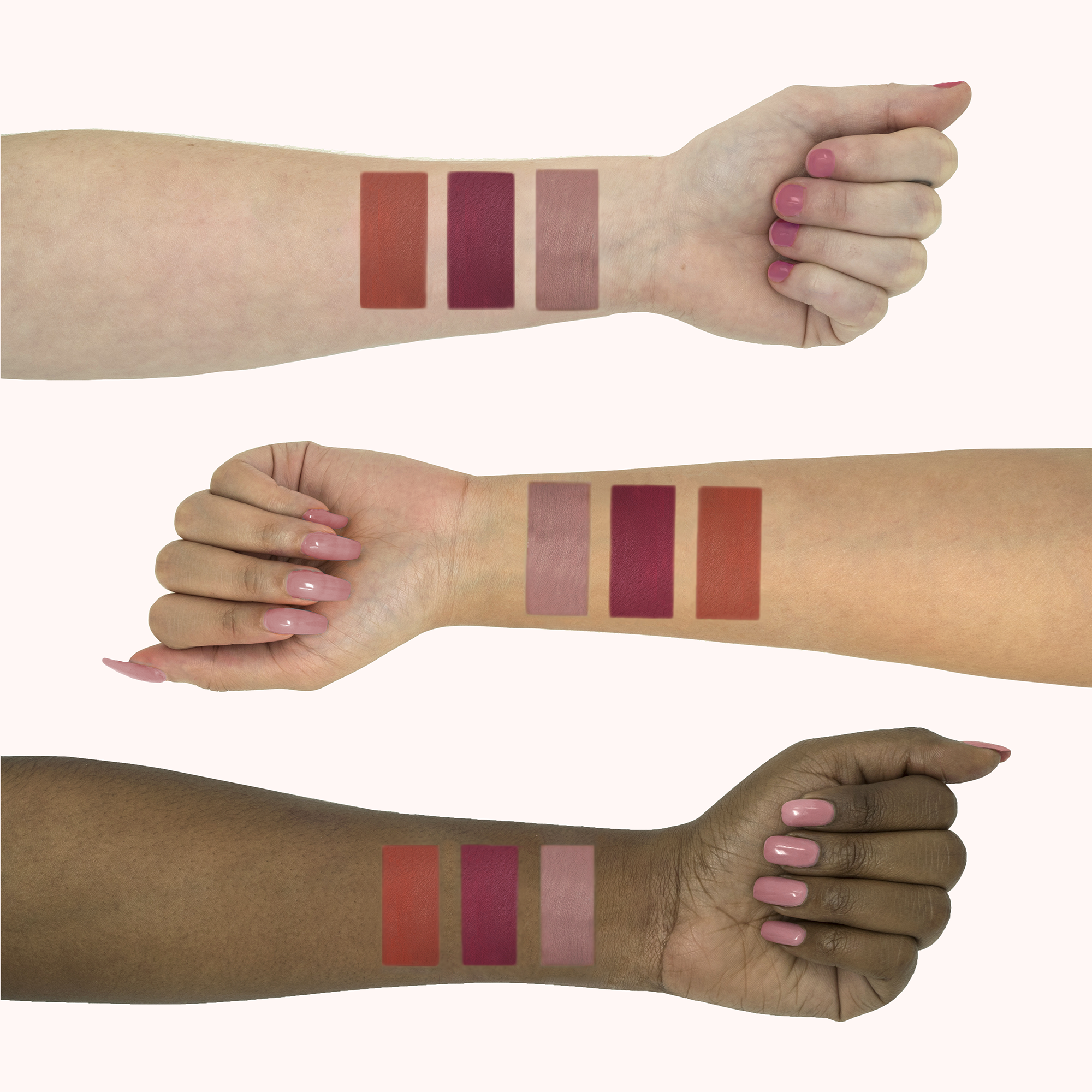 October KissMe Arm Swatches