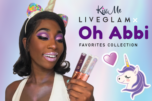 OhAbbi x LiveGlam KissMe Favorites Collection!
