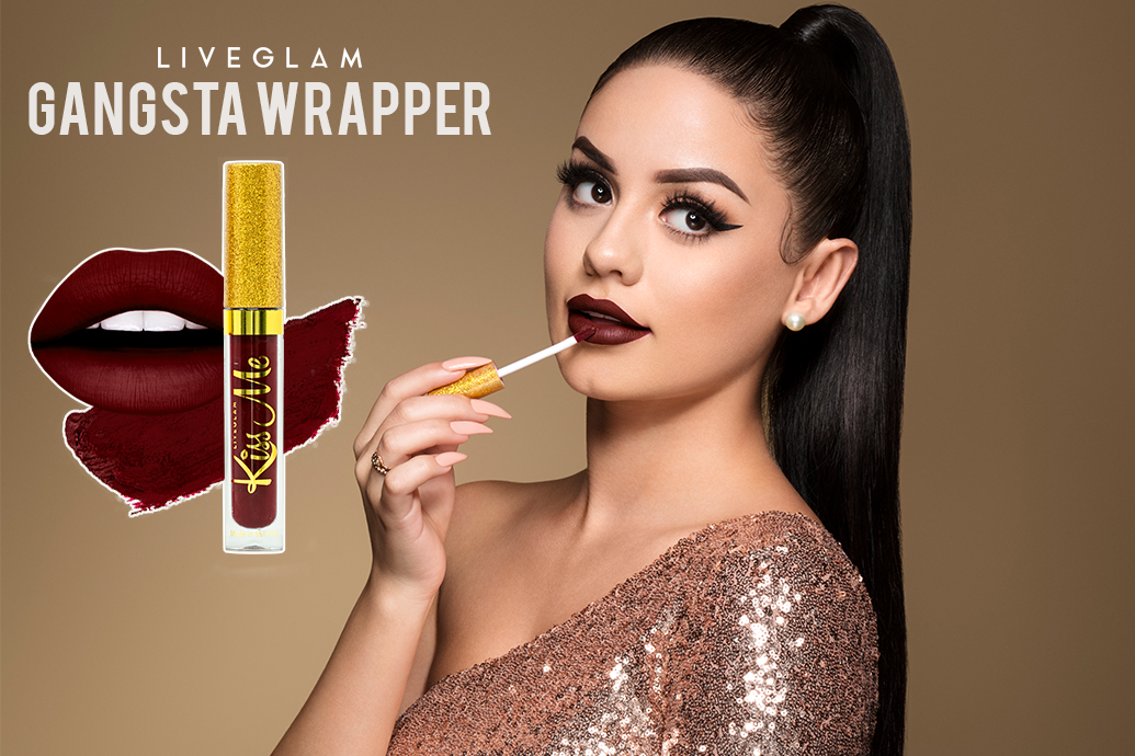 LiveGlam KissMe Gangsta Wrapper Lipstick