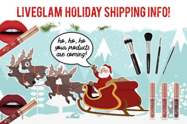 Processing & Shipping Info for Your LiveGlam Holiday Packages!