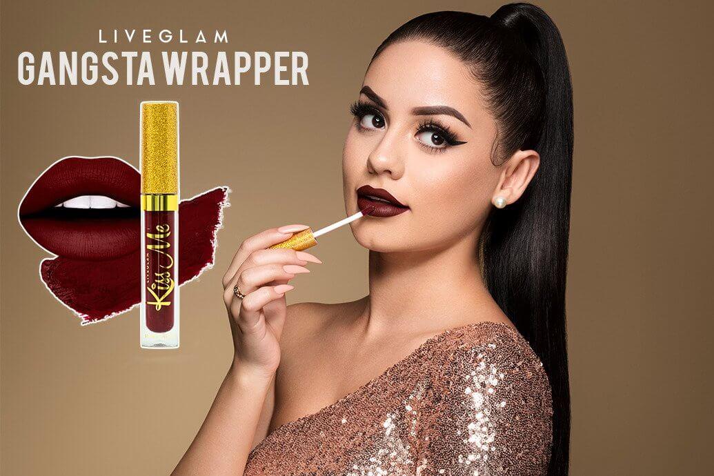 LiveGlam KissMe Gangsta Wrapper Lipstick