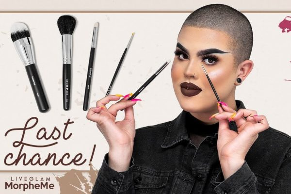 Last Call for LiveGlam November MorpheMe Brushes!