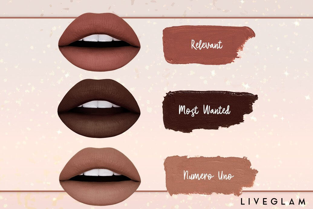 LiveGlam November KissMe Shades