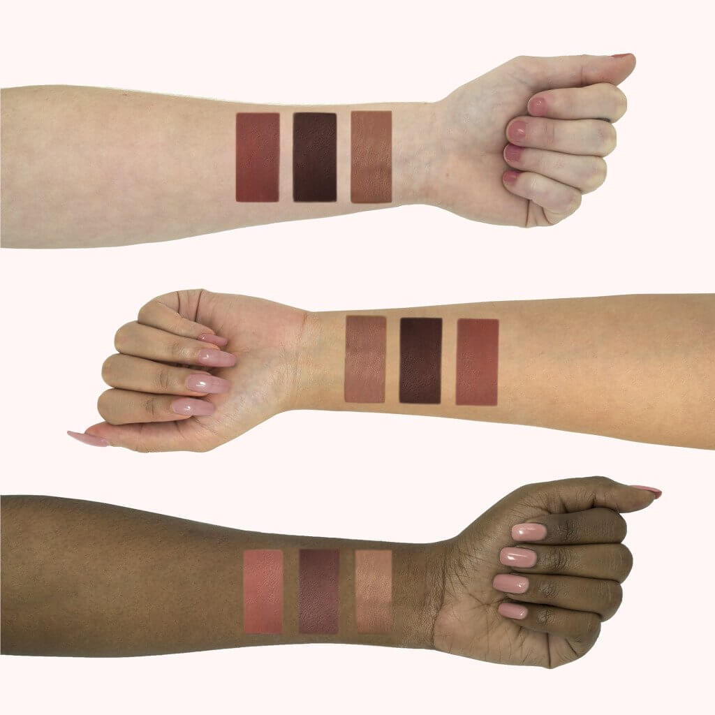 LiveGlam KissMe November Swatches