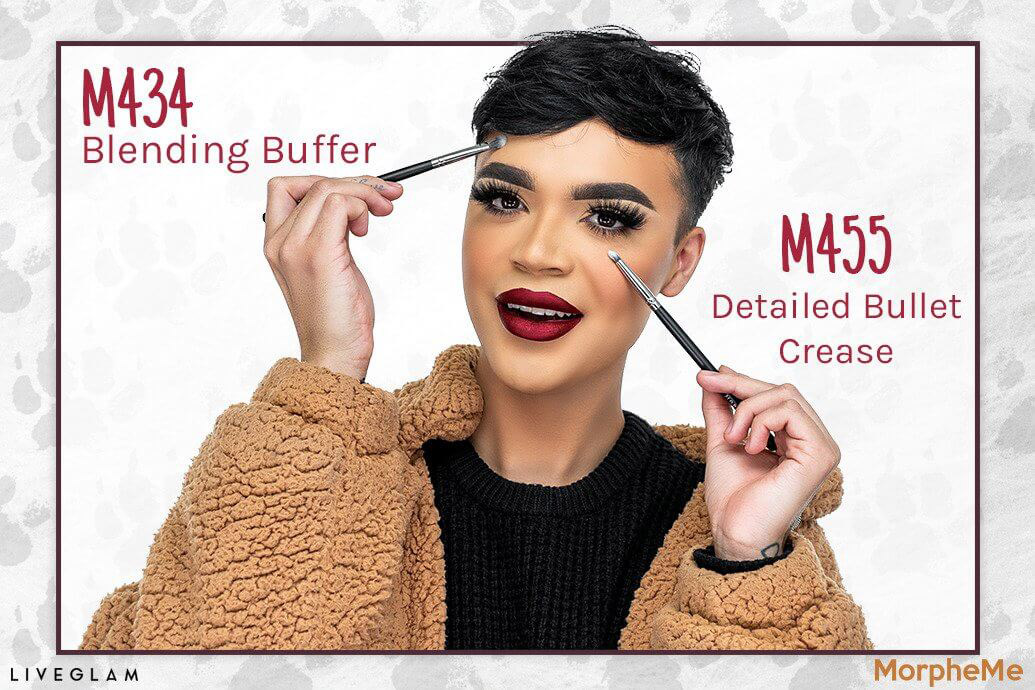 Blending Buffer makeup brush MorpheMe LiveGlam January 2019