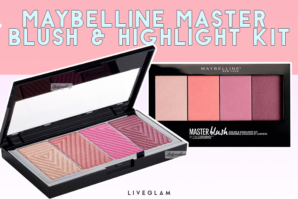 best multi purpose makeup palettes Maybelline Master Blush Highlight Kit