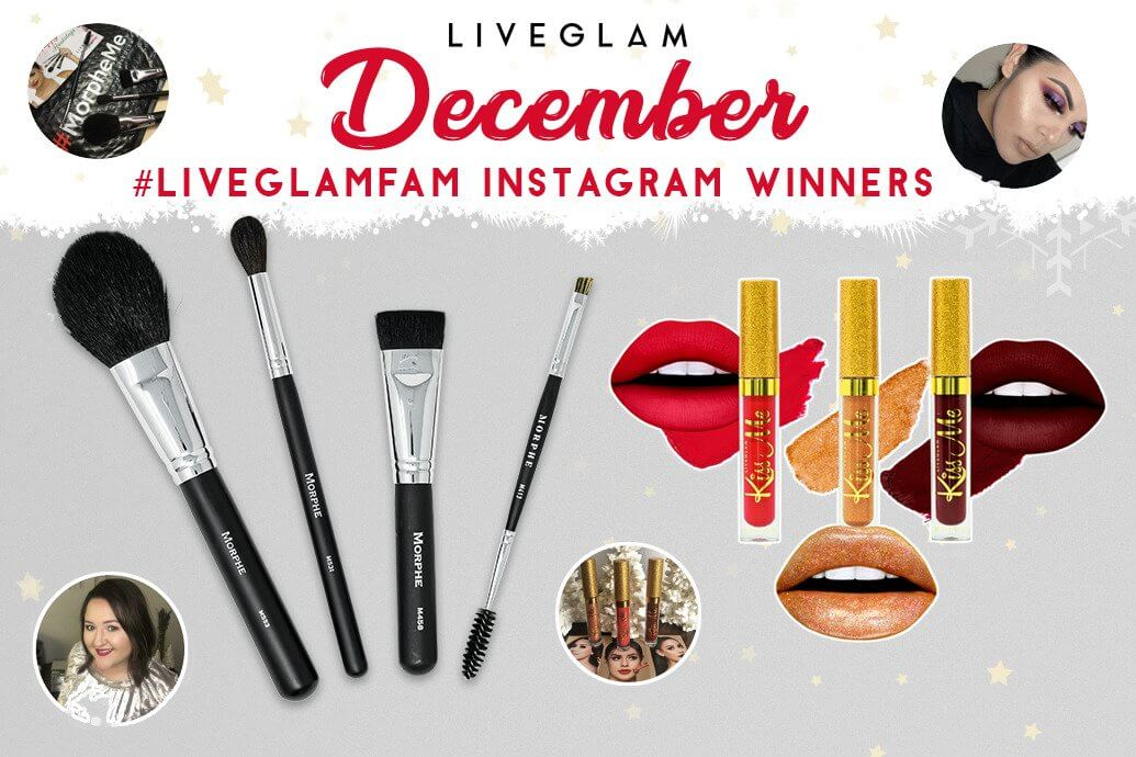 December #LiveGlamFam Giveaway Winners!