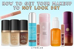 How to get your makeup to not look dry