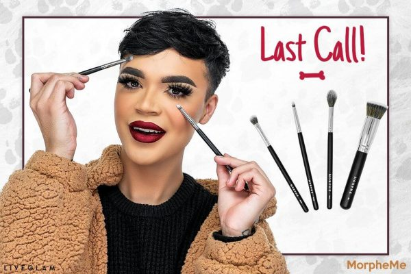 Last Call for LiveGlam January 2019 MorpheMe Brushes!