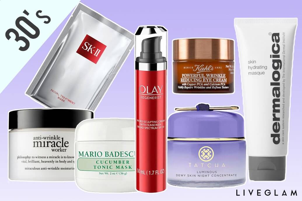 skincare for your 30's