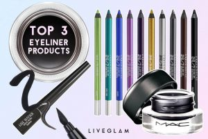 Top 3 Eyeliner Products