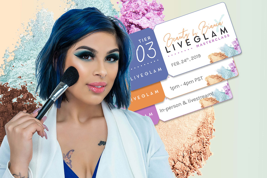 Beauty by Bianca x LiveGlam Master Class!