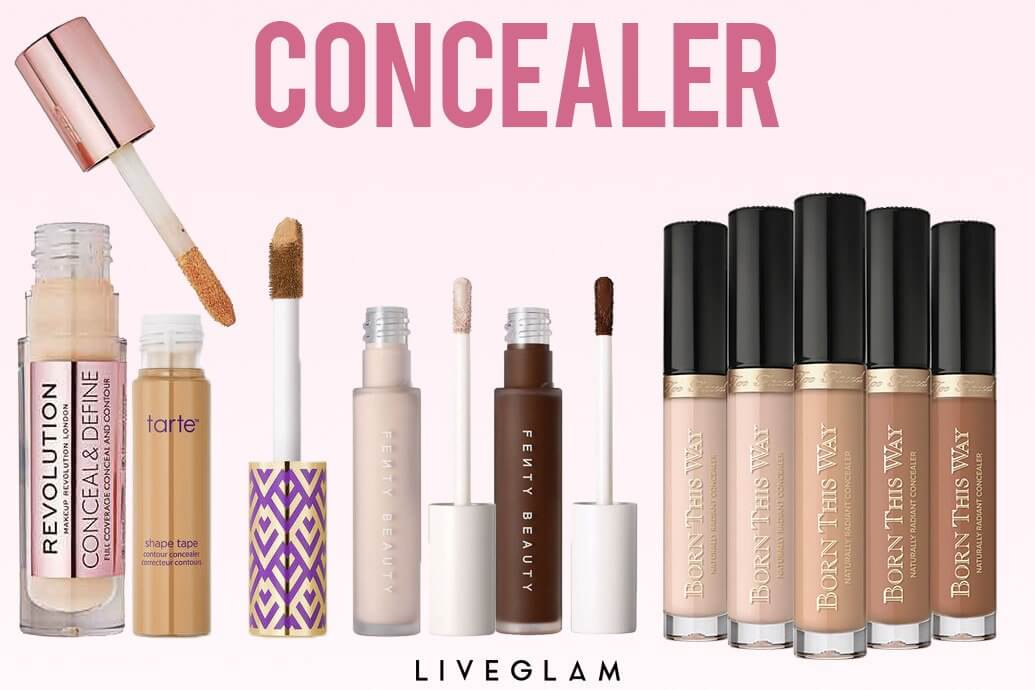 High Coverage Concealers