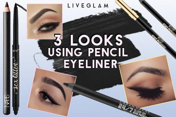 3 Easy Eyeliner Looks You Can Do With an Eye Pencil!