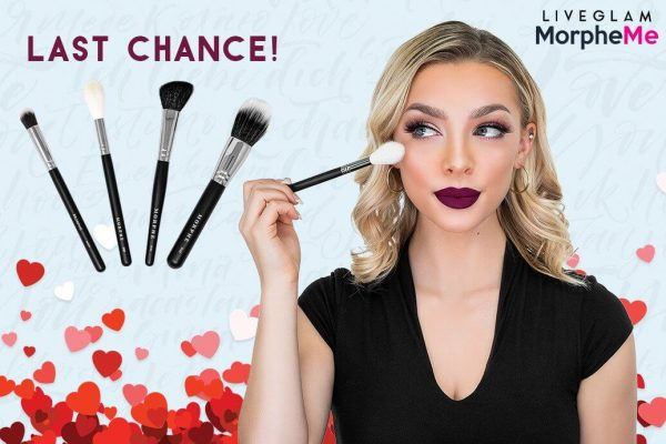 Last Call for LiveGlam February 2019 MorpheMe Brushes!