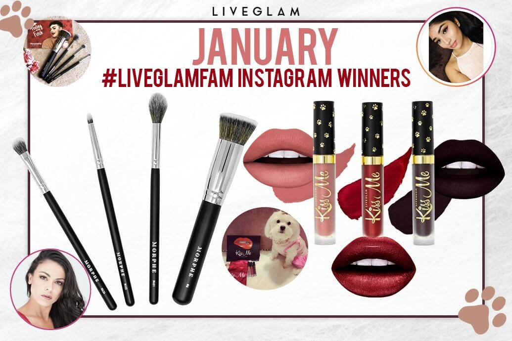 LiveGlam January IG Winners