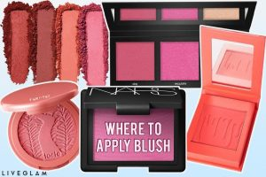 Where to Apply Blush