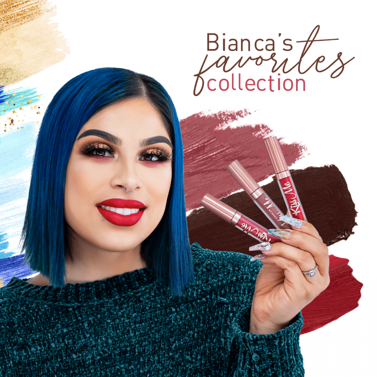 Beauty By Bianca KissMe Favorites Collection from LiveGlam 2019