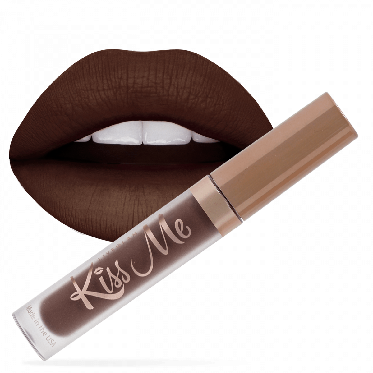 Beauty By Bianca LiveGlam KissMe Favorites Collection Most Wanted Lipstick