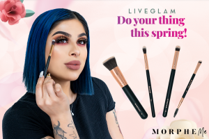 LiveGlam April MorpheMe Brushes 2019