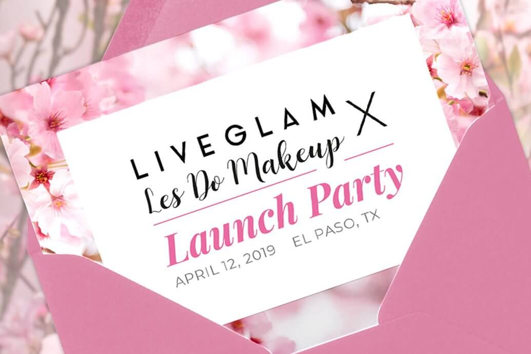 Les do makeup liveglam launch party