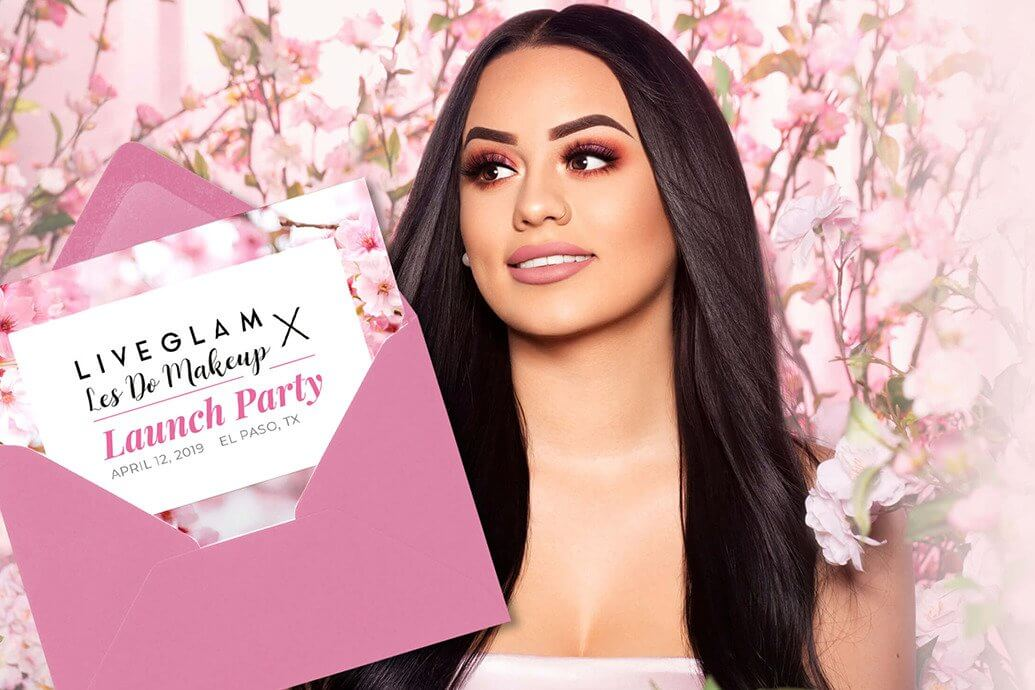 Les do Makeup LiveGlam ShadowMe Launch Party 2019