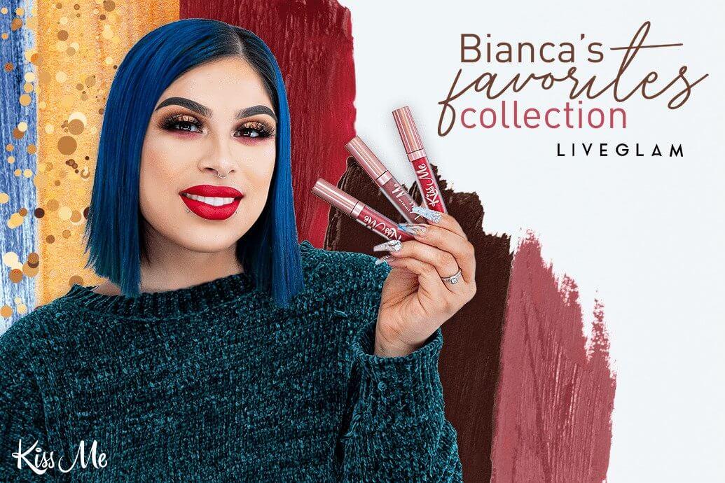 LiveGlam Beauty By Bianca KissMe Favorites Collection 2019