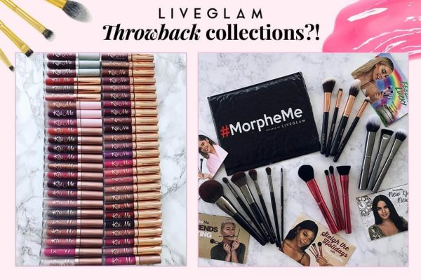 Your Fav LiveGlam KissMe Lippies and MorpheMe Brushes Are Making a Comeback!