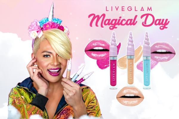 "Have a ""Magical Day"" with our LiveGlam May 2019 KissMe C ..."