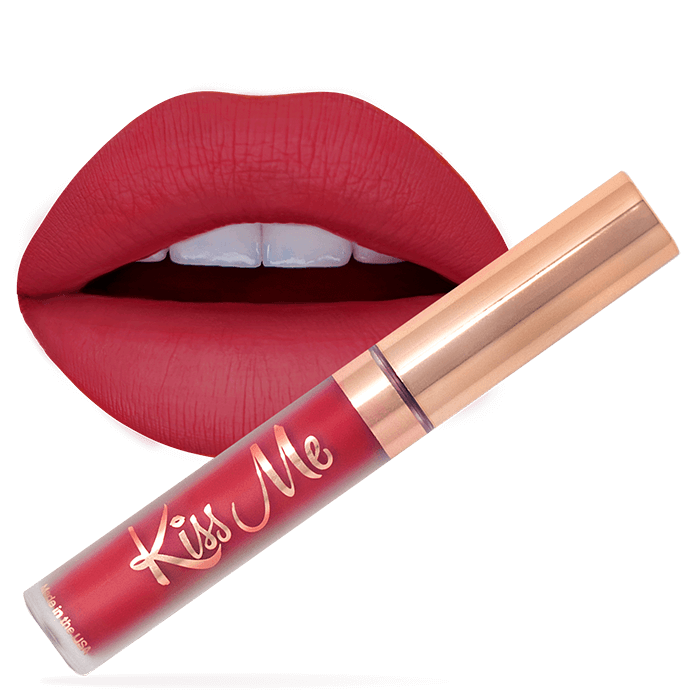 Poppy lipstick LiveGlam KissMe for sale