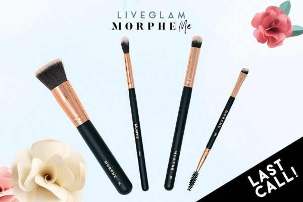 Last Call for LiveGlam April 2019 MorpheMe Brushes!