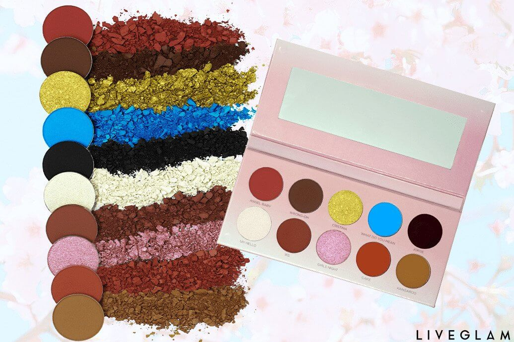Les Do Makeup Collab Eyeshadow Palette from LiveGlam
