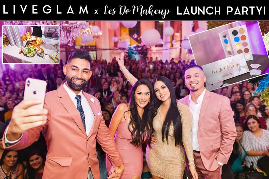 LiveGlam x Les Do Makeup Eyeshadow Palette Launch Party Recap!