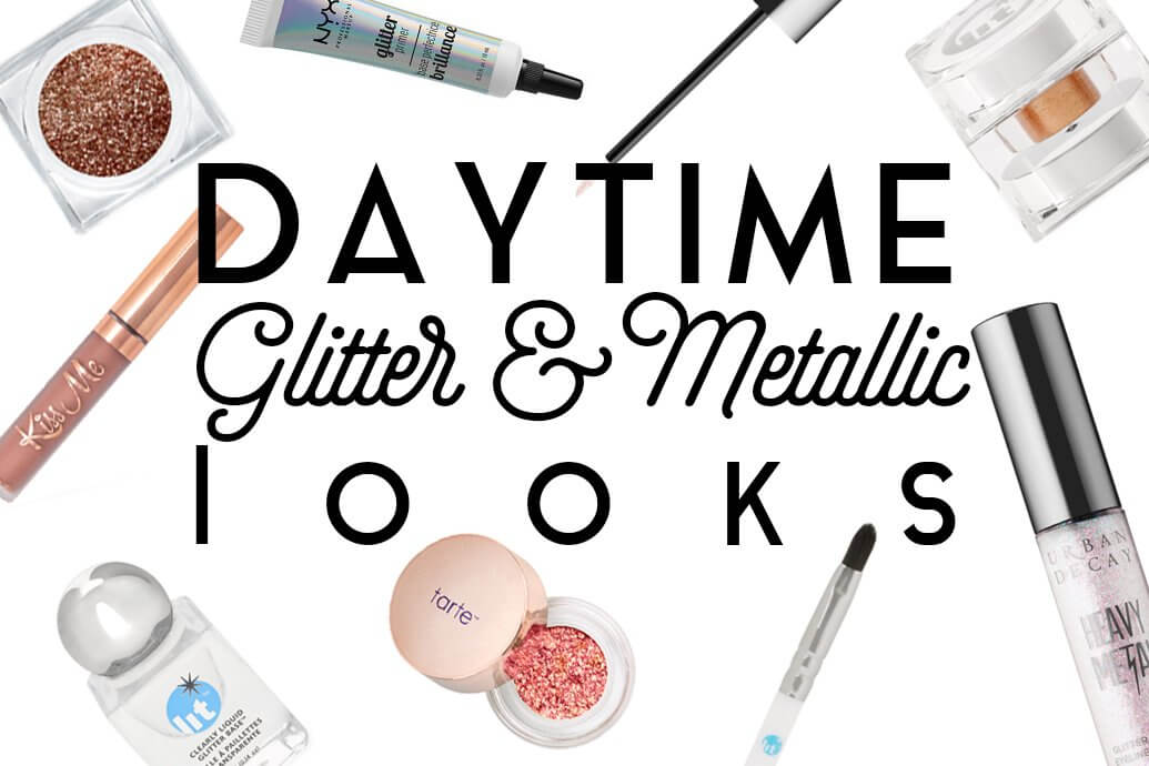 How to wear glitter and metallic during the day