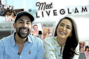 LiveGlam Owner Laura G and Dhar Mann