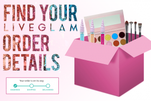 How to find LiveGlam order details