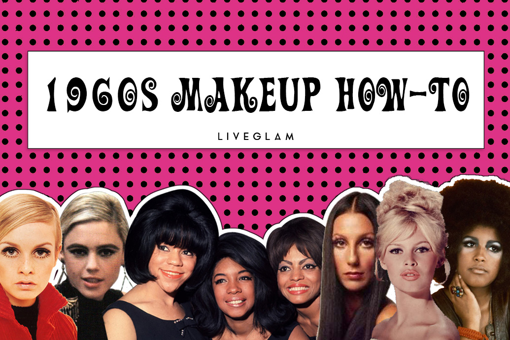 1960s makeup how-to
