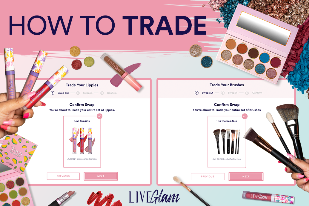 How to Trade LiveGlam Products