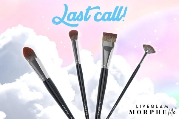 Last Call for LiveGlam May 2019 MorpheMe Brushes!