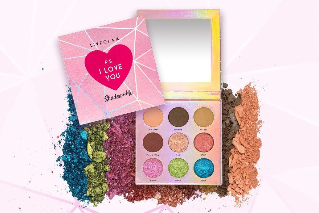 LiveGlam P.S. I Love You Eyeshadow Palette