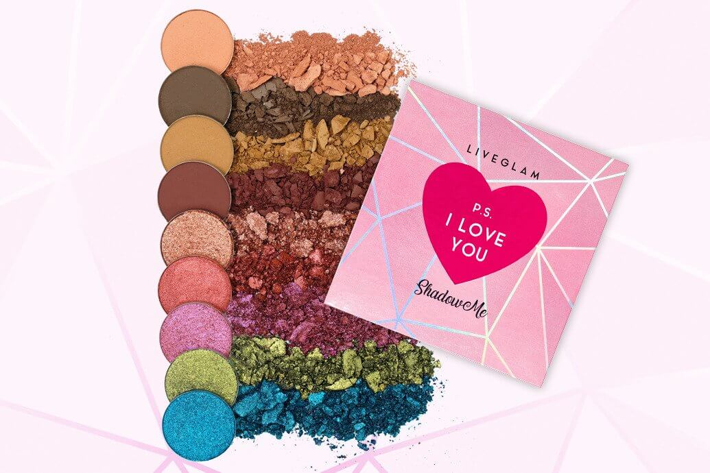 LiveGlam P.S. I Love You ShadowMe Palette