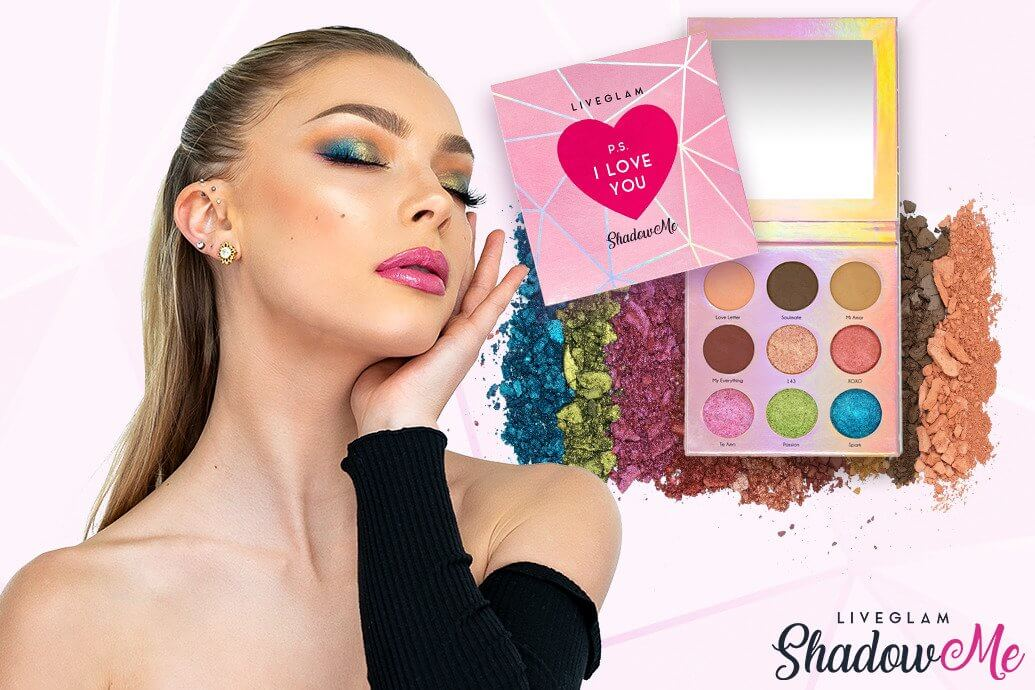 LiveGlam ShadowMe P.S. I Love You Palette