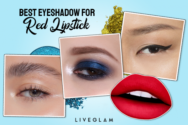Best Eyeshadow Ideas to Match with Red Lipstick